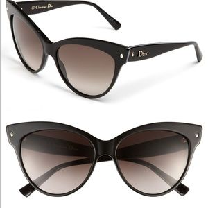 Christian Dior cat eye sunglasses
